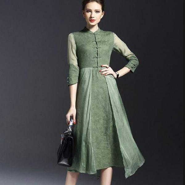 女生穿上旗袍裙其实也很美哦,最流行的旗袍款式推荐