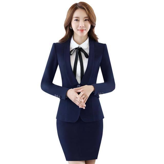 都市白领上班族女生MM 职场合适的小西装套装推荐