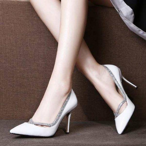 香阁儿女鞋质量怎么样?香阁儿品牌顶级高跟鞋效果照片