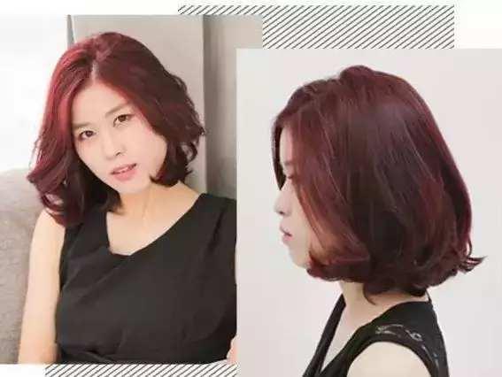 女生留中分短发怎么设计好看?中短发型搭配刘海和卷发尾