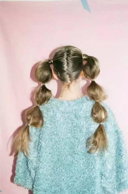 今年娱乐圈女明星流行糖葫芦马尾发型,有图有真相!