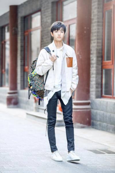 王俊凯最新写真照图片,tfboys王俊凯真实身高多少