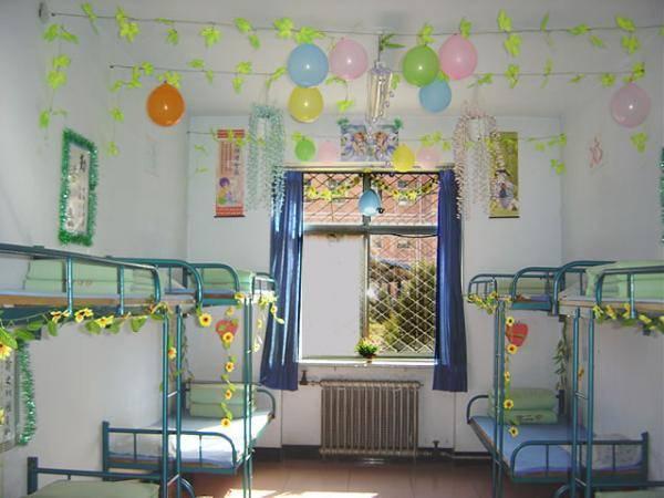 女生寝室文化建设,女生寝室布置图片,女生寝室装饰设计