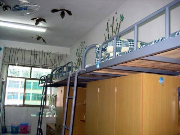 初中女生寝室布置图片,初中男生寝室文化布置装饰效果照片