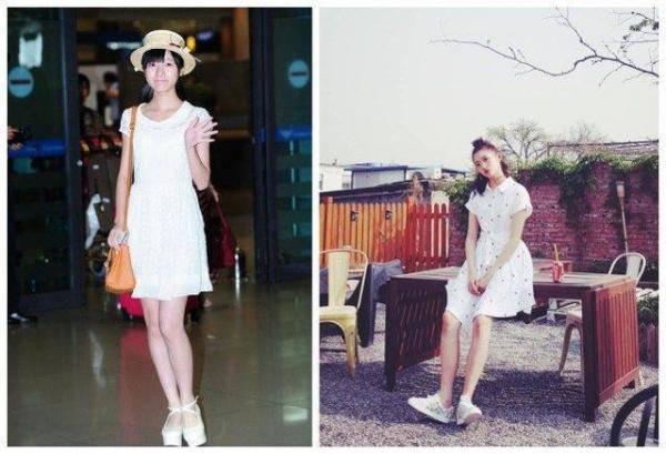 如今衣服是穿的越短越好?童星关晓彤PK徐娇服饰搭配
