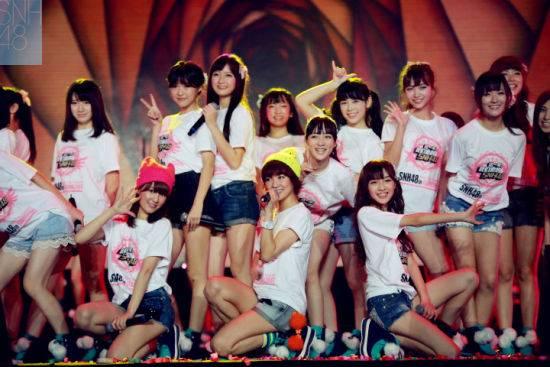 国内女子偶像组合snh48、bej48和gnz48之间关系图片2