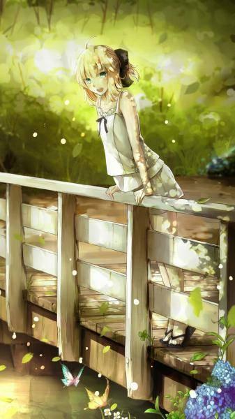 手机壁纸治愈系动漫美女图片下载,手机壁纸动漫图片女生