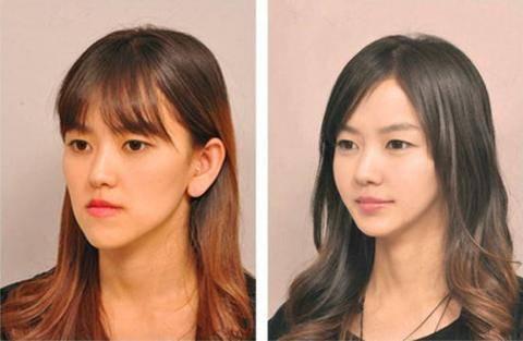 女生一定要学会化妆,不化妆素颜前后对比惊人照片